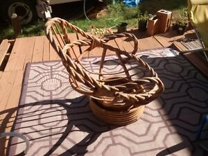 Chair, wicker shell only $10!