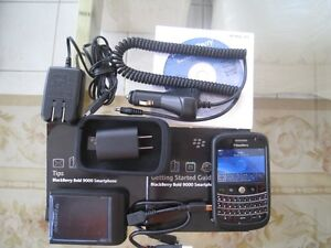 UNLOCKED CELL PHONE; BLACKBERRY 9000 IN BOX AAA WITH ACCESSORIES