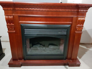 electric fireplace great shape