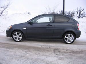 2010 HYUNDAI ACCENT 2DR SPORT ONLY 48KMS