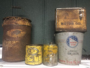 Prairie Cities/Buffalo oil tins