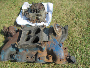 ford carb and manifold
