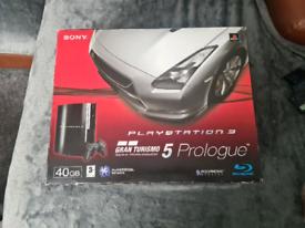 PS3 CONSOLE BOXED GRAN TURISMO 5 PROLOGUE EDITION