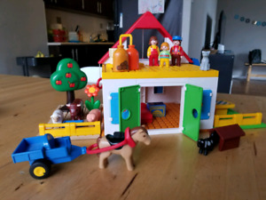 Playmobil 123 large farm set