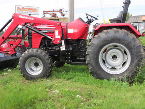 NEW Mahindra 4540 with R4 Tires & 4L Loader