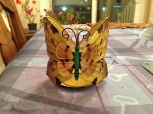 porte-chandelle papillion/butterfly candle holder