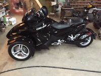 can-am spyder 2012  a vendre comme neuf