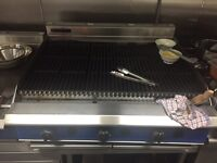 BLUE SEAL G596 GAS CHARGRILL (3 INDEPENDENT BURNERS)