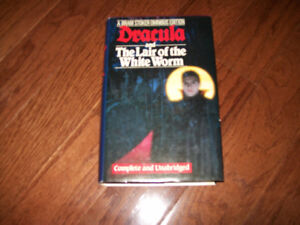 Dracula & the lair of the white worm by Bram Stoker 1986