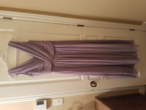 Passion purple (Lavender) Dessy Bridesmaid Dress