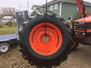 Kubota tire and rims for sale