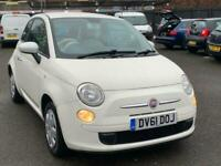 2011 FIAT 500 1.2 POP // ONLY 74000 MILES // FULL SERVICE HISTORY // LONG MOT //