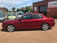 2006 Jaguar X-TYPE 2.5 V6 Sport, Red, FULL SERVICE HISTORY **ANY PX WELCOME**