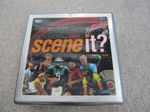 """""""Scene It?"""" DVD Board Game - Sports Edition In Collector Tin Kitchener / Waterloo Kitchener Area image 1"""