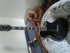 ESP PA-1 guitar.  Electric/acoustic.