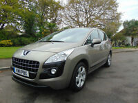 Magnificent Mega Low Mileage Peugeot 3008 Crossover 1.6 VTi Sport Must See