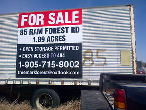 INDUSTRIAL COMMERCIAL VACANT LAND HWY 404 AND AURORA RD