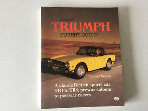 Triumph Illustrated Buyer's Guide Spitfire GT6 TR3A TR250 TR8