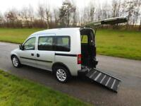 2012 62 Vauxhall Combo 1.3 Cdti AUTOMATIC ONLY 12K Wheelchair Accessible Vehicle