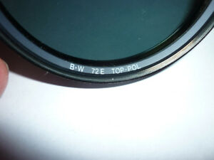 B+W 72 mm E TOP Circular Polarizer Filter