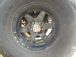 4 - 15 X 8 in jeep rims