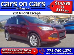 2014 Ford Escape w/BlueTooth, USB Connect, Satellite Radio $119B