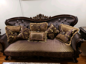 The most adorable royal style  ASHELY couches