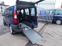 Wheelchair Accessible Fiat Doblo 1.4