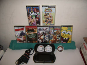 Sony PSP 1001 Bundle With 10 games