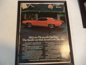 OLD CLASSIC MUSCLE CAR ADS Windsor Region Ontario image 10