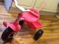 Kids bike - Hello Kitty Trike Bike with Parent Control