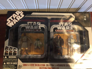 Star wars 4 figurines (commemorative tin collection) ROTS