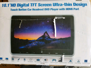 "10"" HD digital TFT screen"