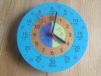 Children's teaching clock