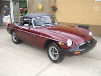 1976 MGB -- FURTHER REDUCED  $9,500