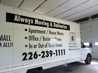 ALWAYZ MOVING & DELIVERIES