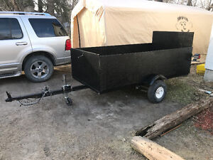 4x8 homemade trailer