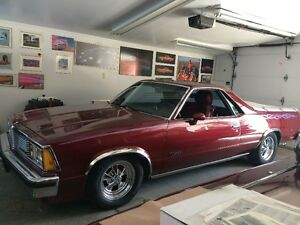 1981 CHEVROLET EL CAMINO  ( NO TRADES ) NOW $14,250.00