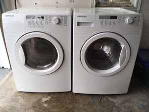 Brada washer dryer set front loader