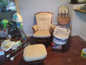 Rocking chair and baby furniture