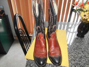 COWBOY BOOTS BY BOULET QUALITY MADE  MEN SIZE 9