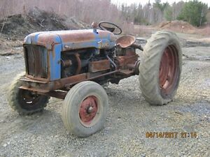 Antique 1955 Fordson Major Tractor