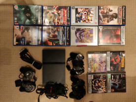 PS2 bundle - 12 games, 3 controllers