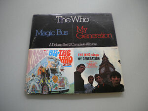 THE WHO SINGS MY GENERATION/ MAGIC BUS - DOUBLE ROCK ALBUM