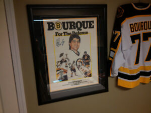 Boston Bruins Bourque for The Defense Limited Edition Print