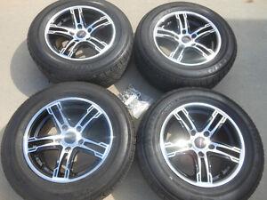 P205/65R15 Matrix Tour RS Tires on Street Gear Alloy Wheels