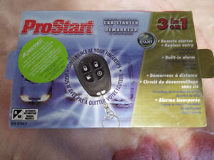 ProStart 3 In 1 Car remote Starter