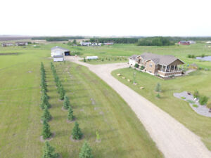 PUBLIC OPEN HOUSE 5.28 acres with home and shop just west of GP