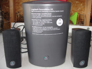 High Performance Subwoofer and Satellite Speaker System