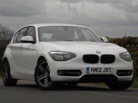 BMW 120 2.0TD 2012MY d Sport RARE WHITE + COMPANY OWNED SINCE NEW + FULL BMW SER